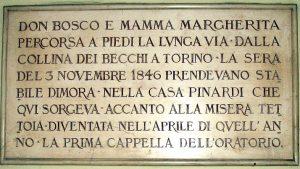 Don Bosco e Mamma Margherita arrivano a Valdocco