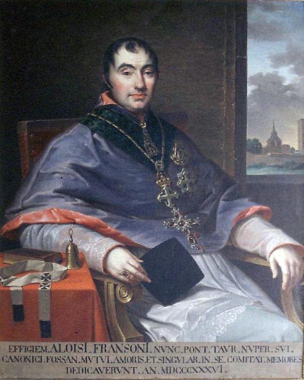 Luigi Fransoni approva la Compagnia di San Luigi